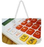 Calculator Weekender Tote Bag