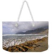 Caleta De Famara Beach On Lanzarote Weekender Tote Bag