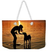 Call And Answer Weekender Tote Bag