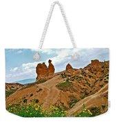 Camel In Camel Valley In Cappadocia-turkey Weekender Tote Bag