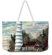 Cana Island Light Weekender Tote Bag