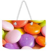 Candy Background Weekender Tote Bag