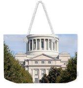 Capitol Building In Little Rock Weekender Tote Bag