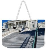 Capitol Hill Building In Washington Dc Weekender Tote Bag