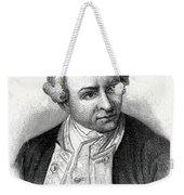 Captain James Cook, British Explorer Weekender Tote Bag