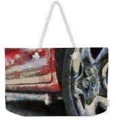 Car Rims 02 Photo Art 03 Weekender Tote Bag