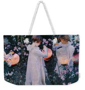 Carnation Lily Lily Rose Weekender Tote Bag