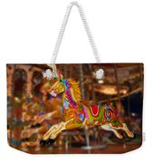 Carousel In Bournemouth Weekender Tote Bag