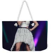 Singer Carrie Underwood Weekender Tote Bag