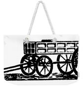 Cart, 19th Century Weekender Tote Bag
