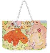 Cartoon Animals Weekender Tote Bag