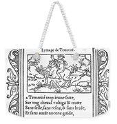 Cartouche, 1543 Weekender Tote Bag