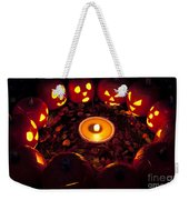 Pumpkin Seance With Pumpkin Pie Weekender Tote Bag