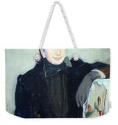 Cassatt's Portrait Of An Elderly Lady Weekender Tote Bag