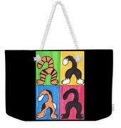 Cat Tails - Primary Weekender Tote Bag