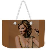 Cate Blanchett Painting  Weekender Tote Bag