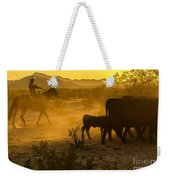 Cattle Drive 6 Weekender Tote Bag