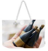 Celebration Champaign Bubbles Weekender Tote Bag