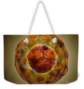 Cell Nucleus With Chromosome Weekender Tote Bag