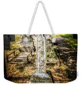 Celtic Cross Weekender Tote Bag by Adrian Evans