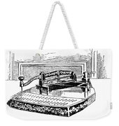 Census Machine, 1890 Weekender Tote Bag