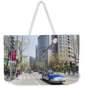 Central Shanghai In China Weekender Tote Bag