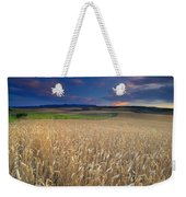 Cereal Fields At Sunset Weekender Tote Bag