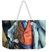 Cezanne's Boy In Red Waistcoat Weekender Tote Bag