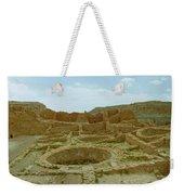 Chaco Canyon Ruins Weekender Tote Bag