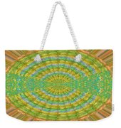 Chakra Mandala Green Wheel Meditation Unique Style Creative Beads Crystal Energy Healing Round Oval  Weekender Tote Bag