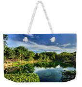 Chankanaab Lagoon Reflections Weekender Tote Bag