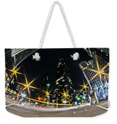 Charlotte Nc Usa - Nightlife Around Charlotte Weekender Tote Bag