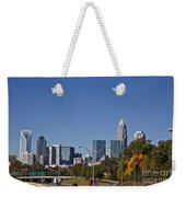 Charlotte Skyline Weekender Tote Bag by Jill Lang