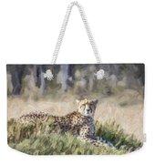 Cheetah Acinonyx Jubatus Weekender Tote Bag