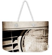 Chevrolet Camaro Headlight Emblem Weekender Tote Bag