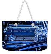 Chevrolet Corvette Engine Weekender Tote Bag