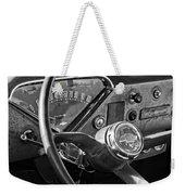 Chevrolet Steering Wheel Emblem Weekender Tote Bag