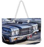 Chevy Malibu Weekender Tote Bag