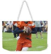 Chicago Bears Qb David Foles Training Camp 2014 05 Weekender Tote Bag