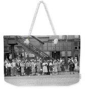 Chicago Commuters, 1940 Weekender Tote Bag