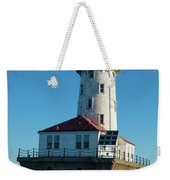 Chicago Harbor Lighthouse Weekender Tote Bag