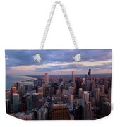 Chicago Il. Skyline, May 2009 Weekender Tote Bag
