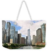 Chicago Panorama Weekender Tote Bag