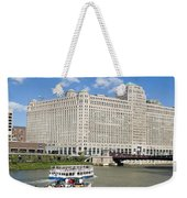 Chicago River Bend Weekender Tote Bag