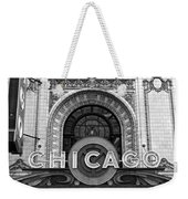 Chicago Theater Marquee Weekender Tote Bag