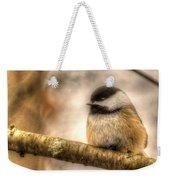 Chickadee Magic Weekender Tote Bag