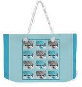 Chilly Winter Day Weekender Tote Bag