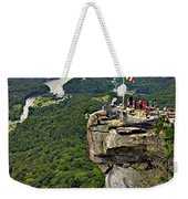 Chimney Rock Overlook Weekender Tote Bag