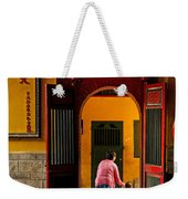Chinese Temple In Ho Chi Minh Vietnam Weekender Tote Bag