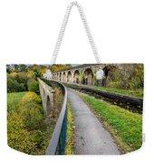 Chirk Aqueduct Weekender Tote Bag